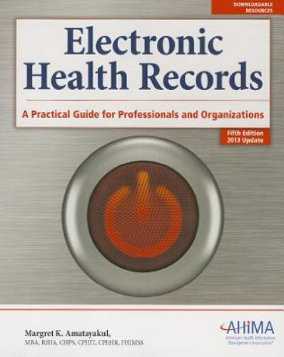 ELECTRONIC HEALTH RECORDS-TEXT N/A edition cover