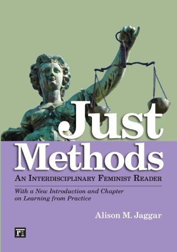 Just Methods: An Interdisciplinary Feminist Reader  2013 edition cover
