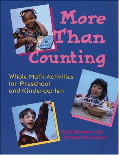 More Than Counting Whole Math Activities for Preschool and Kindergarten N/A edition cover