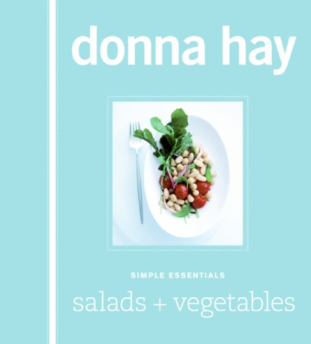 Simple Essentials Salads and Vegetables  N/A 9780061569036 Front Cover