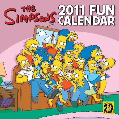 Simpsons 2011 Fun Calendar  N/A edition cover