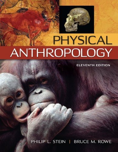 Physical Anthropology:   2013 edition cover