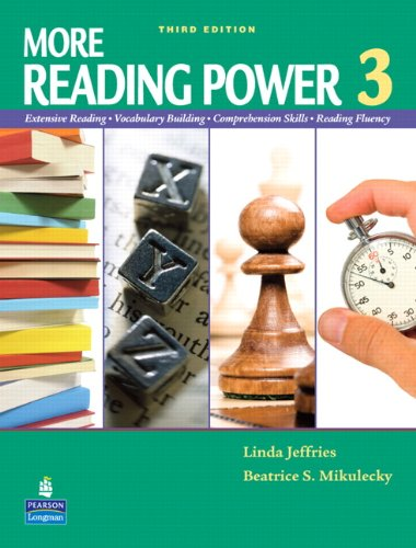 More Reading Power  3rd 2012 (Student Manual, Study Guide, etc.) edition cover