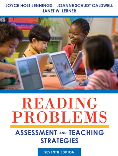 Reading Problems Assessment and Teaching Strategies Plus NEW MyEducationLab with Pearson EText -- Access Card 7th 2014 9780133389036 Front Cover
