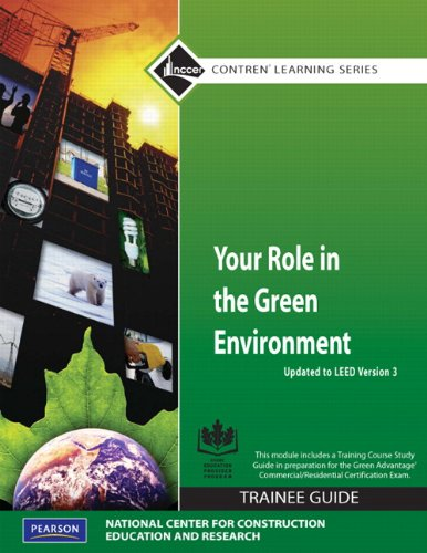 Your Role in the Green Environment   2010 9780136023036 Front Cover