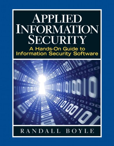 Applied Information Security   2010 edition cover