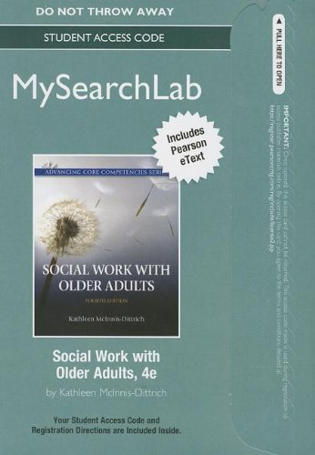 Social Work with Older Adults  4th 2014 edition cover