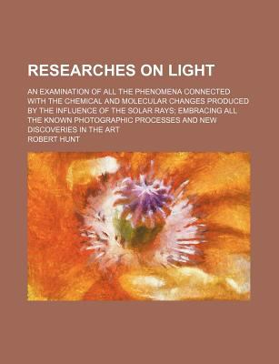 Researches on Light  N/A edition cover