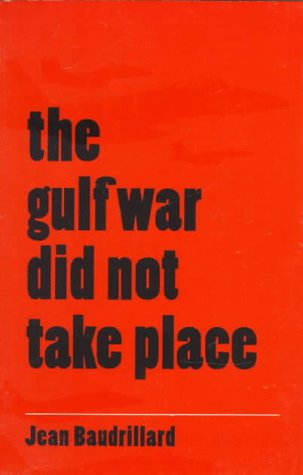 Gulf War Did Not Take Place   1995 edition cover