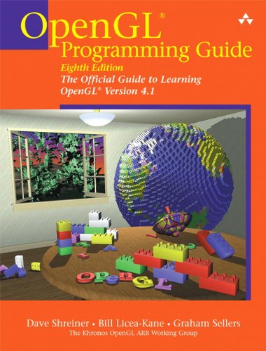 OpenGL Programming Guide The Official Guide to Learning OpenGL 8th 2013 (Revised) edition cover