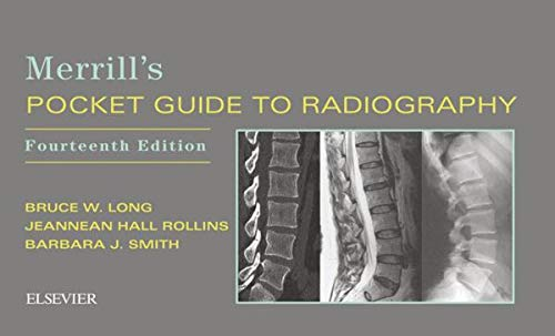Merrill's Pocket Guide to Radiography:   2018 9780323597036 Front Cover