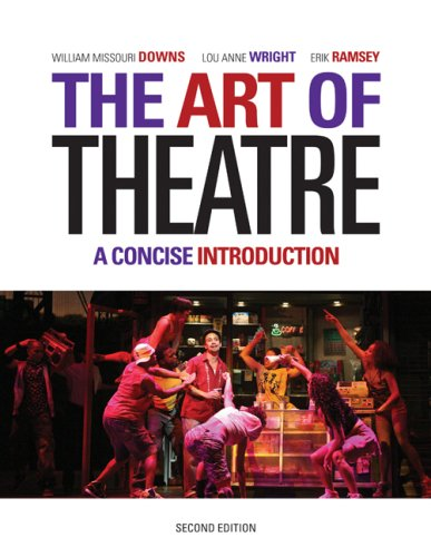 Art of Theatre A Concise Introduction 2nd 2010 edition cover