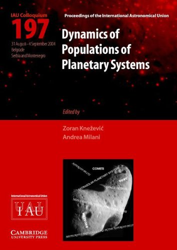 Dynamics of Populations of Planetary Systems   2005 9780521852036 Front Cover