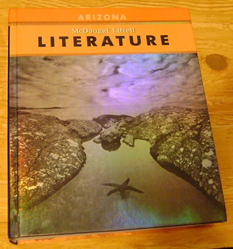 McDougal Littell Literature Arizona Student's Edition Grade 08 2008  2007 9780618943036 Front Cover