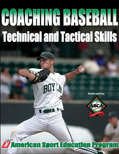 Coaching Baseball Technical and Tactical Skills   2006 edition cover