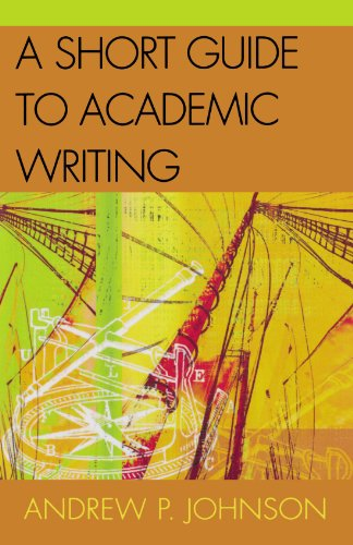 Short Guide to Academic Writing   2003 edition cover