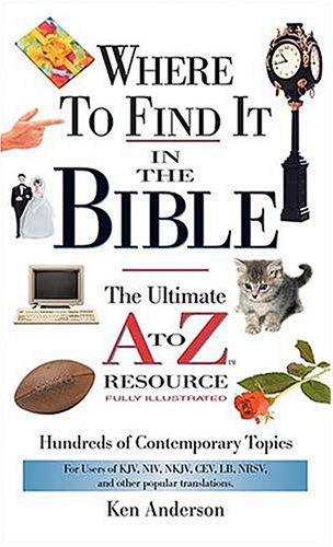 Where to Find It in the Bible   2002 edition cover