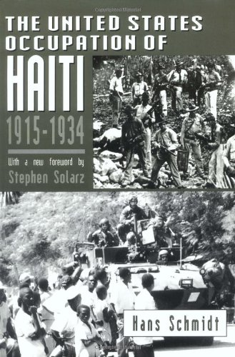 United States Occupation of Haiti, 1915-1934   1995 edition cover