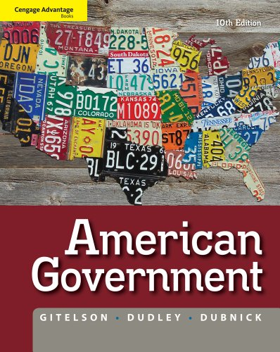 American Government  10th 2012 edition cover