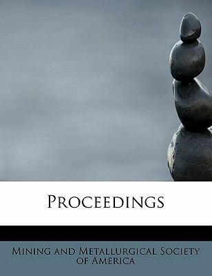 Proceedings  N/A 9781116011036 Front Cover