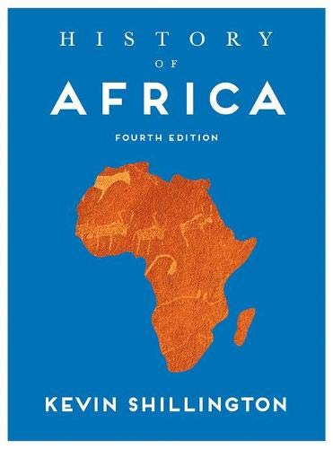 History of Africa  4th 2018 9781137504036 Front Cover