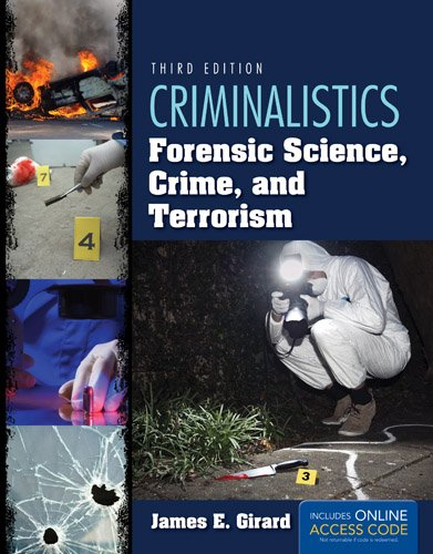 Criminalistics Forensic Science, Crime, and Terrorism 3rd 2015 edition cover