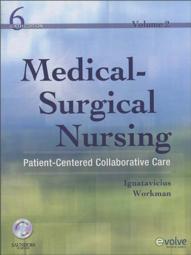 Medical-Surgical Nursing Patient-Centered Collaborative Care, 2-Volume Set 6th 2009 edition cover