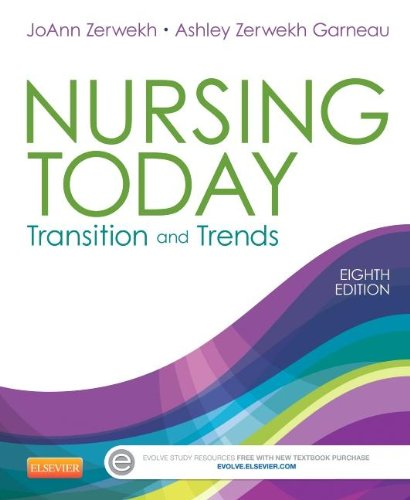 Nursing Today Transition and Trends 8th 2015 9781455732036 Front Cover