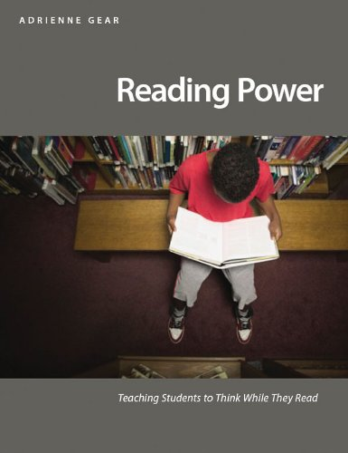 Reading Power Teaching Students to Think While They Read  2006 edition cover