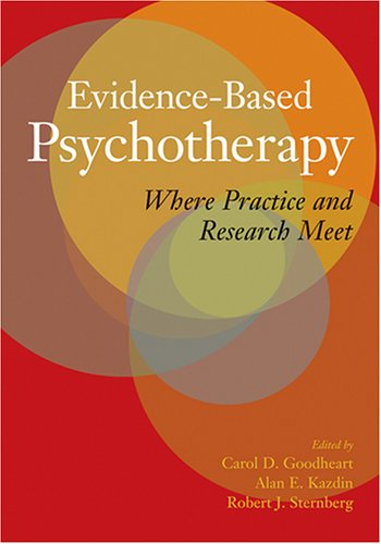 Evidence-Based Psychotherapy Where Practice and Research Meet  2006 edition cover