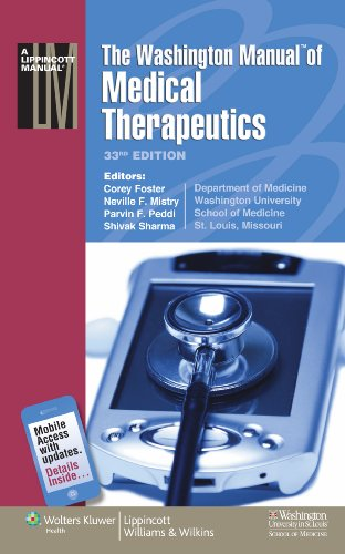 Washington Manual� of Medical Therapeutics  33rd 2010 (Revised) edition cover