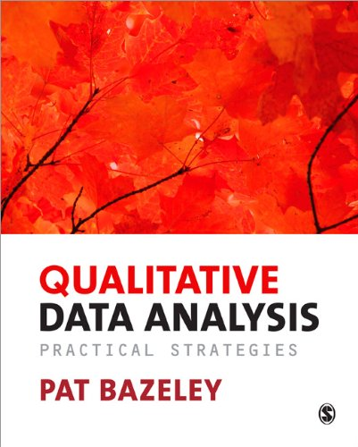 Qualitative Data Analysis Practical Strategies  2013 edition cover