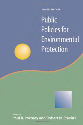 Public Policies for Environmental Protection  2nd 2000 (Revised) edition cover