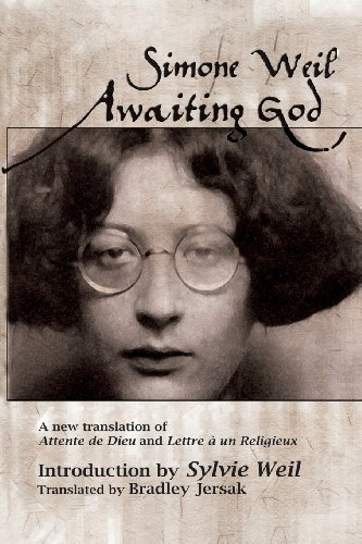 Awaiting God A New Translation of Attente de Dieu and Lettre a un Religieux N/A edition cover