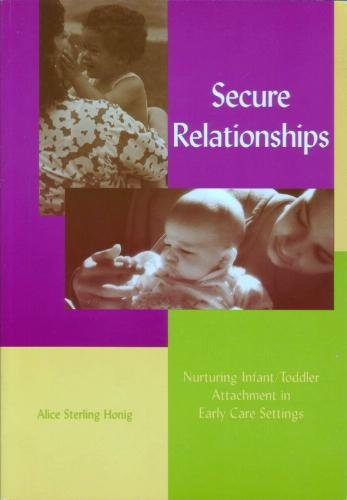 Secure Relationships Nurturing Infant/Toddler Attachment in Early Care Settings  2002 edition cover