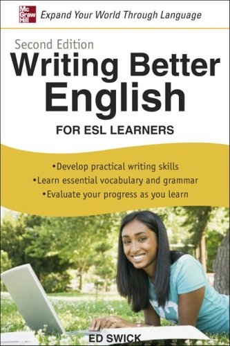Writing Better English for ESL Learners  2nd 2009 edition cover