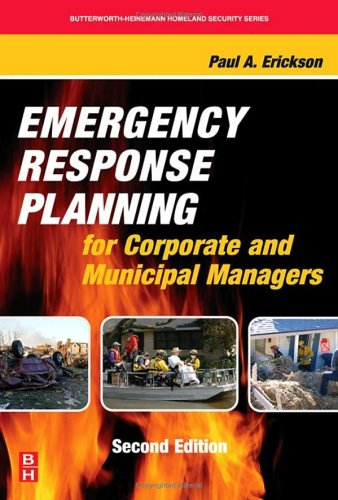 Emergency Response Planning for Corporate and Municipal Managers  2nd 2006 (Revised) edition cover