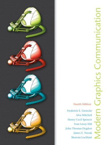 Modern Graphics Communication  4th 2010 edition cover