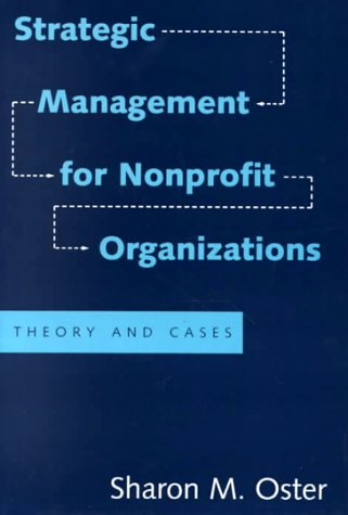 Strategic Management for Nonprofit Organizations Theory and Cases  1995 edition cover