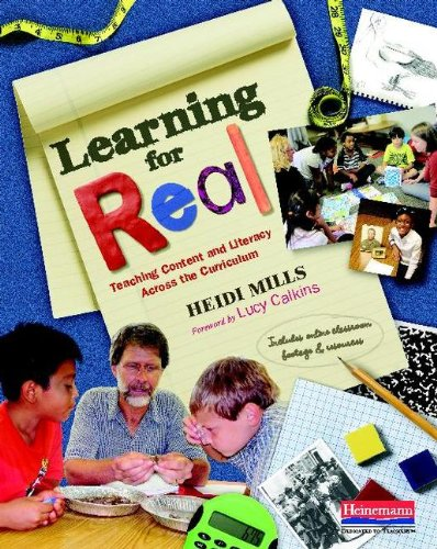 Learning for Real Teaching Content and Literacy Across the Curriculum  2014 edition cover