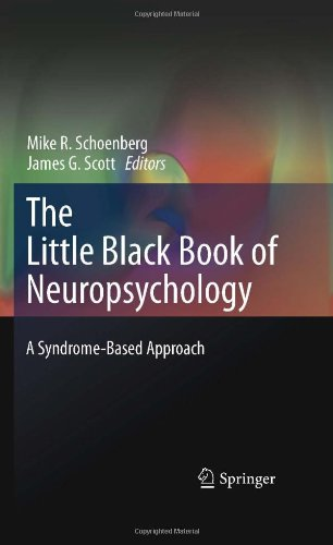 Little Black Book of Neuropsychology A Syndrome-Based Approach  2011 9780387707037 Front Cover