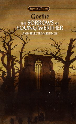 Sorrows of Young Werther and Selected Writings   1962 edition cover