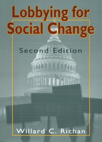Lobbying for Social Change  2nd 1996 edition cover