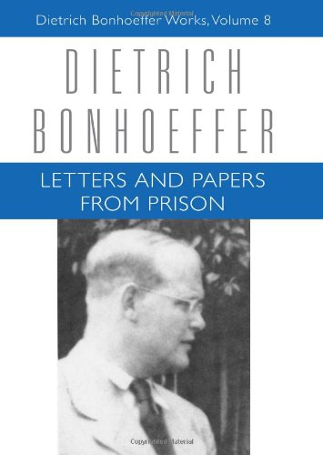 Letters and Papers from Prison Dietrich Bonhoeffer Works  2010 edition cover