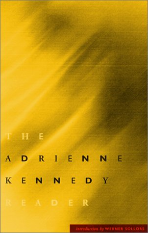 Adrienne Kennedy Reader   2001 edition cover
