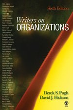 Writers on Organizations  6th 2007 (Revised) edition cover