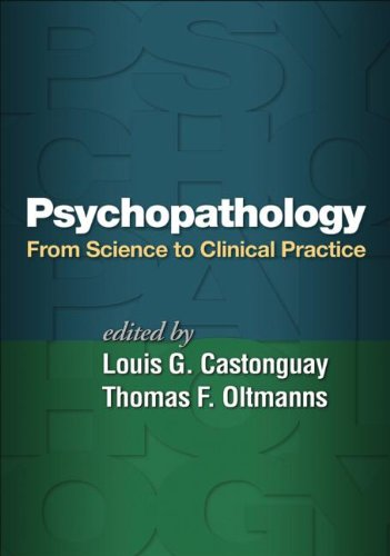 Psychopathology From Science to Clinical Practice  2013 edition cover