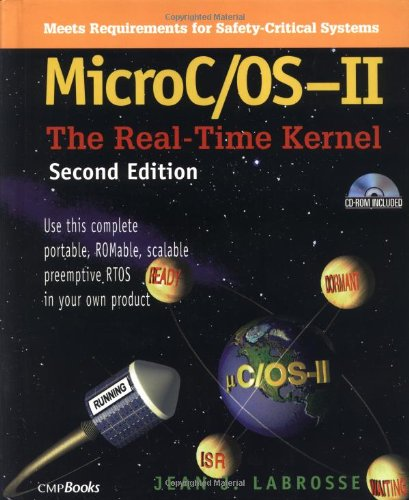 MicroC/OS-II The Real-Time Kernel 2nd 2002 (Revised) edition cover