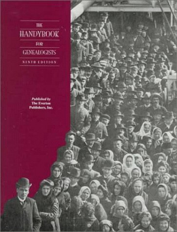 Handybook for Genealogists 9th 1999 (Revised) edition cover
