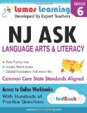 Nj Ask Practice Tests and Online Workbooks Grade 6 Language Arts and Literacy, Third Edition N/A 9781940484037 Front Cover